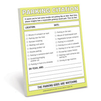 Parking Citation Nifty Note by Knock Knock - knockknockstuff.com