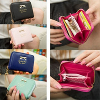 New Fashion Lady Women Leather Wallet Card Holder [PS] = 1958344516