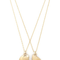 Out of Print Nifty Nerd Gatsby's Green Light Special Necklace Set in Gold
