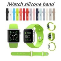 For Apple Watch 38/42mm Candy Colors Silicon Rubber Original Casual Sports Iwatch Band Strap Watch Bracelet  [9305838727]