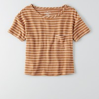 AEO SOFT & SEXY POCKET PLUSH T-SHIRT