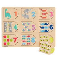 Counting Wood Puzzle
