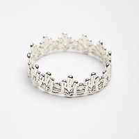 BELART Womens Lace Dipped Bracelet - Silver One