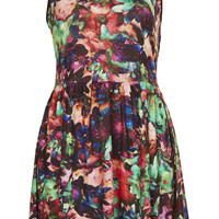 Sleeveless Flower Flippy Dress - New In This Week - New In - Topshop