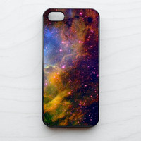 Space iPhone 5 4 4S Case iPhone 4 Case Galaxy Hubble Crab Nebula