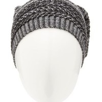 Marled Sweater Knit Beanie by Charlotte Russe
