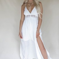 Daniela White Maxi Beach Dress