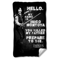 The Princess Bride Montoya Fleece Blanket