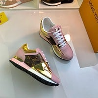 lv louis vuitton womans mens 2020 new fashion casual shoes sneaker sport running shoes 246