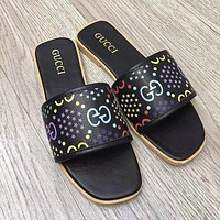 GG new double G women's slippers shoes