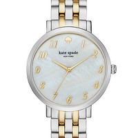 Kate Spade Monterey Watch Two Tone Gold ONE