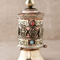Jewel of the Lotus Prayer Wheel