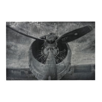 26-8674 Alton-World War II Airplane Print Etched Print On Aluminum