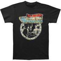 Traveling Wilburys Men's  Session Slim Fit T-shirt Black