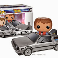want some popcorn to go with that movie ticket?: Back To The Future: Pop! Rides & ReAction Figures from FUNKO