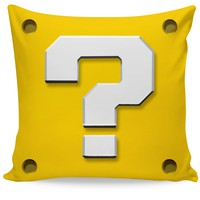 Mario Mystery Box Couch Pillow