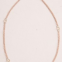 GOLD, SILVER AND BRONZE NECKLACE
