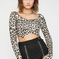 Kitty Cruel Intentions O-Ring Crop Top