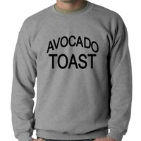Avocado Toast Crewneck Sweatshirt