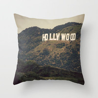 Old Hollywood Throw Pillow by CMcDonald | Society6