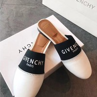 Givenchy Fashion Casual Leather Slipper