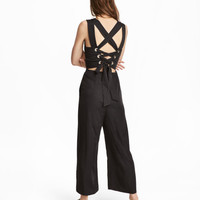 Jumpsuit with Lacing - from H&M