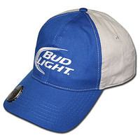 Bud Light Dual Color Hat w/ Opener