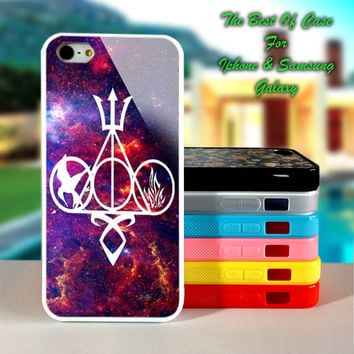 Harry Potter,Hunger Games,Divergent,Percy Jackson,Mortal Instruments Nebula - iPhone 4/4s, iPhone 5s, iPhone 5c case.