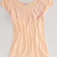 AEO Women's Embroidered Tee