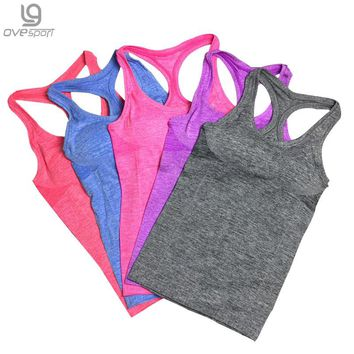 Women's Fitted Racer Back Tank Top 5 Colors