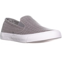 Sperry Top-Sider Seaside Perforated Slip On Fashion Sneakers, Rose Dust, 10 US / 41 EU