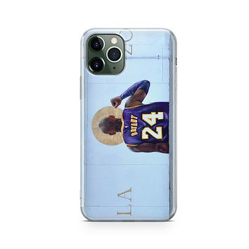 @Isaacpelayo X Milkywaycases Full Kobe Mural - iPhone Clear Case