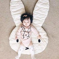 animal Crawling Blanket Carpet Floor Baby Play Mats Children Room Decoration Play Rugs Rabbit Creeping Mat