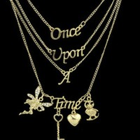Jewelry Stylish Gift Shiny New Arrival Fashion Accessory Hollow Out Alphabet Heart Necklace [6573101831]