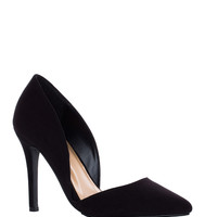 Electric Love Pumps in Black