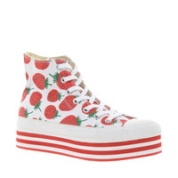Converse | Converse All Star Strawberry Platform High Top Sneakers at ASOS