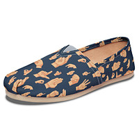 ASL Hand Sign Casual Shoes