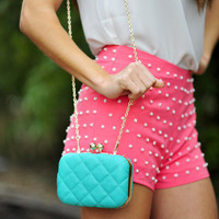 Drop Dead Diva Purse: Turquoise | Hope's