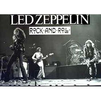 Led Zeppelin Rock and Roll XL Giant Poster 38x53