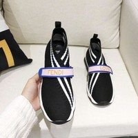 Fendi Black Sock Sneaker