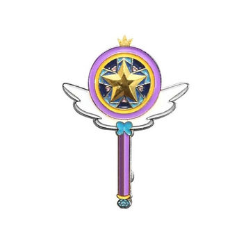 Star vs The Forces of Evil - Enamel Pins - Star's Wand