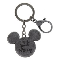 Disney Parks I'll Be your Mickey Keychain New with Tags