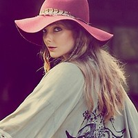 Goorin Bros.  Safari Feather Hat at Free People Clothing Boutique