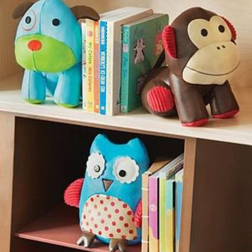 pair of animal bookends by lush baby | notonthehighstreet.com