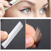 Pro 10 pcs Dedicated Scraping Eyebrow Shaping Eyebrows Plucked Razor Blade Set Beauty Makeup Tools