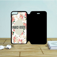 Panic At The Disco Flowers iPhone 6 Flip Case Dewantary