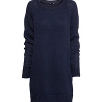 Knitted dress - from H&M