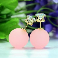 79548 Candy-colored earrings by CHIQ CLUB