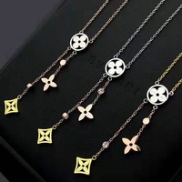 Louis Vuitton LV Hot Sale Women Fashion Necklace Jewelry Accessories