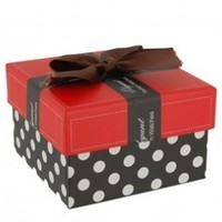 With bow knot this elegant piece of hard paper watch gift box / case:Amazon:Electronics